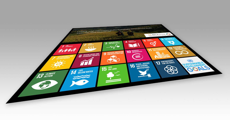 SDG Resource Center tablet image