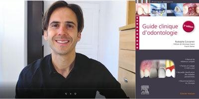 Rodolphe Zunzarren présente le Guide clinique d'odontologie