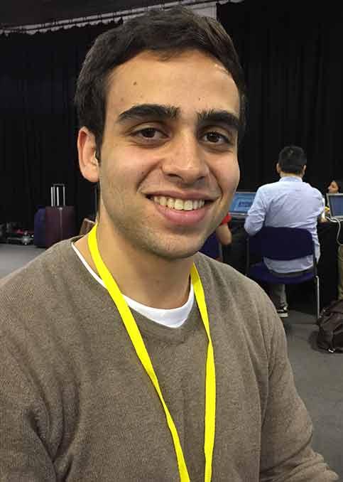 Izz Abudaka, Computer Science student