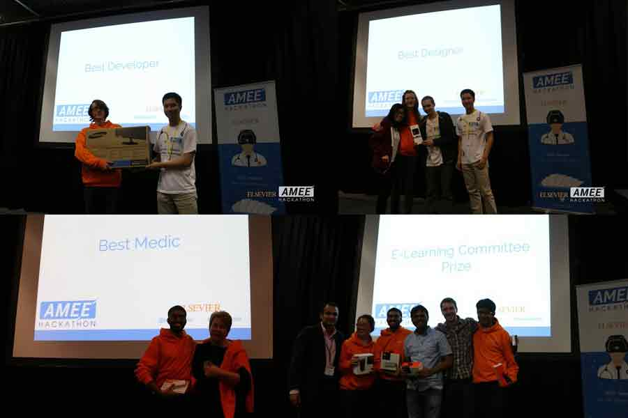 Some of the AMEEHacks 2015 winners