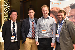 3 winners announced for 2015 Reaxys PhD Prize