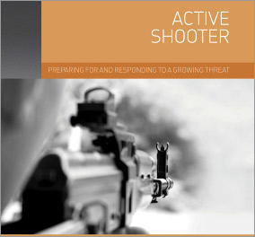 How should you respond to an active shooter?