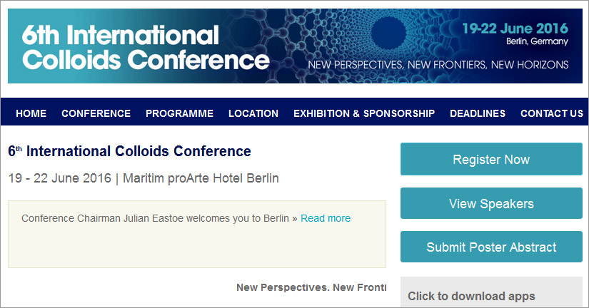 International Colloids Conference