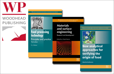 With its acquisition of Woodhead Publishing, Elsevier expands its science and technology book publishing in several key areas, including food science and materials science & engineering.