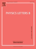 Journal: Physics Letters B