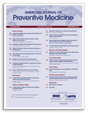 American Journal of Preventive Medicine