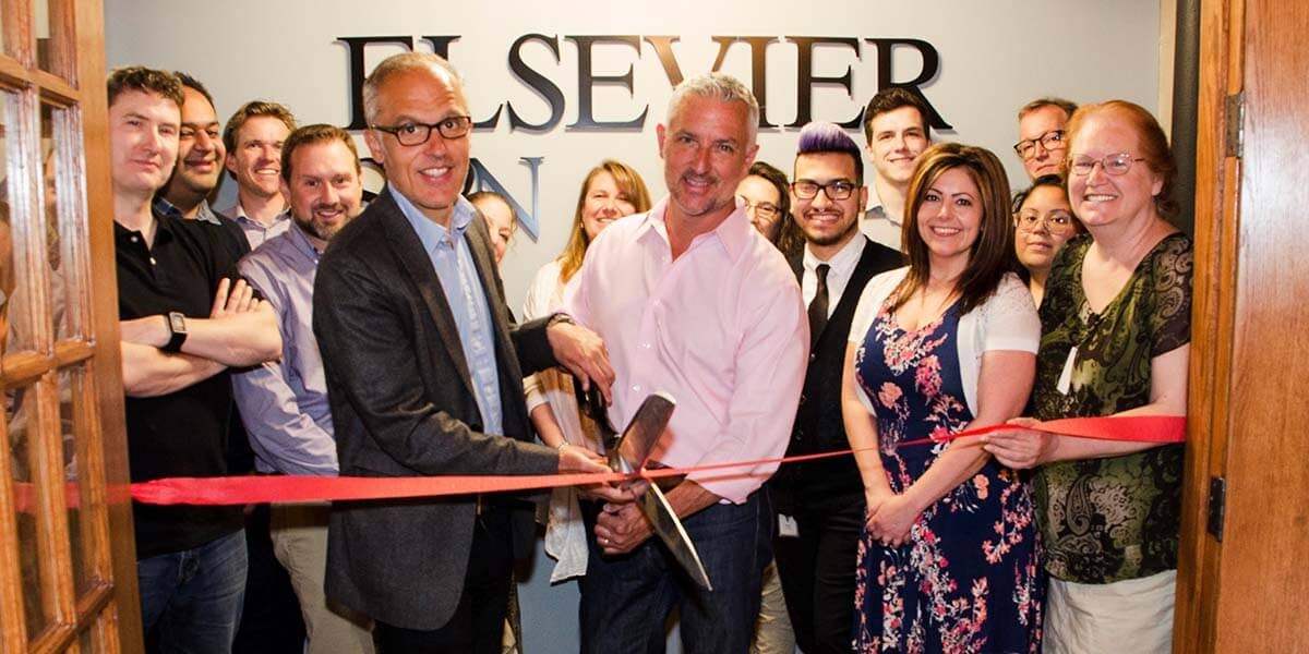 SSRN celebrates its one-year anniversary at Elsevier