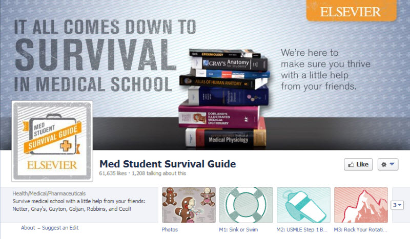 Med School Survival Guide Facebook page