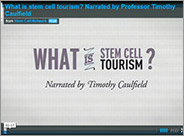 1-minute animation: What is stem cell tourism?
