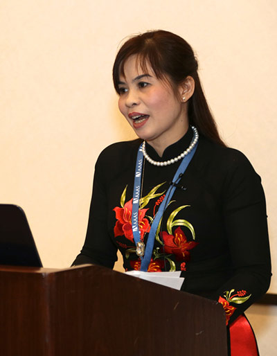 Dang Thi Oahn, PhD, is Head of the Division of Science-Technology and International Cooperation at Thái Nguyên University of Information and Communications Technology.