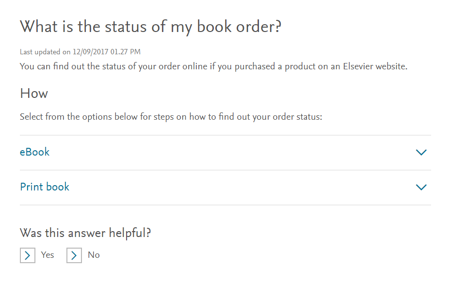 What is the status of my book order?