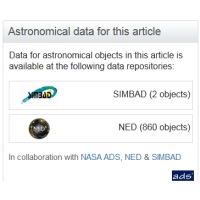 Astronomy Database Linking Tool