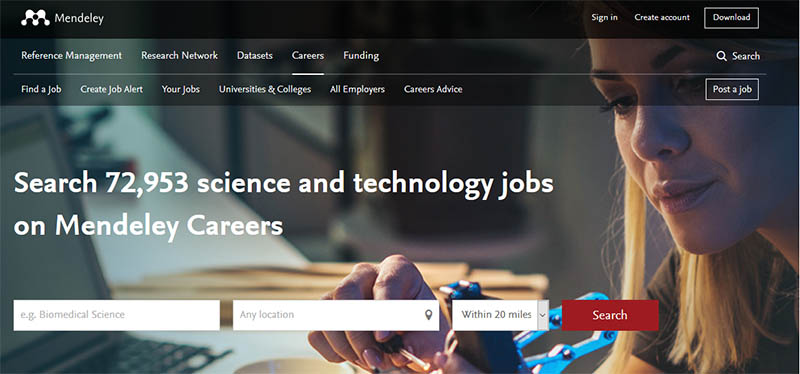 Visit Mendeley Careers