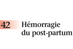 Hémorragie du post-partum