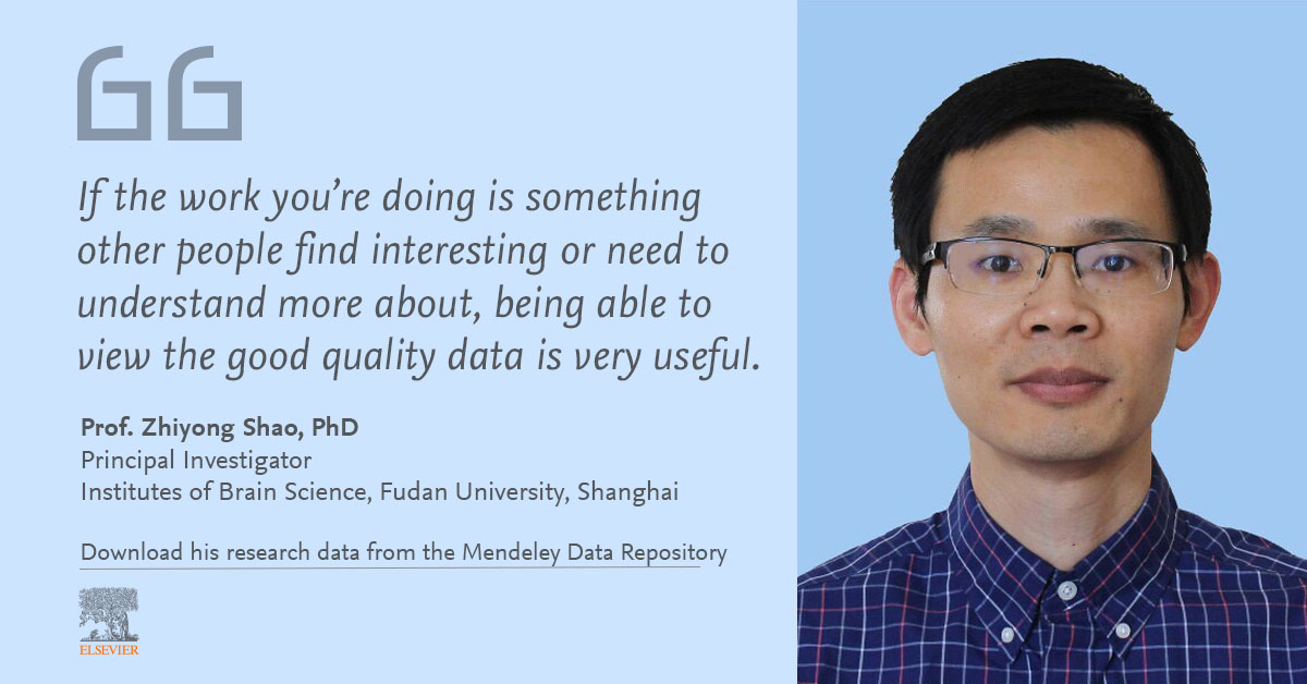 Quote by Prof. Zhiyong Shao, PhD, of the Institute of Brain Science, Fudan University, Shanghai
