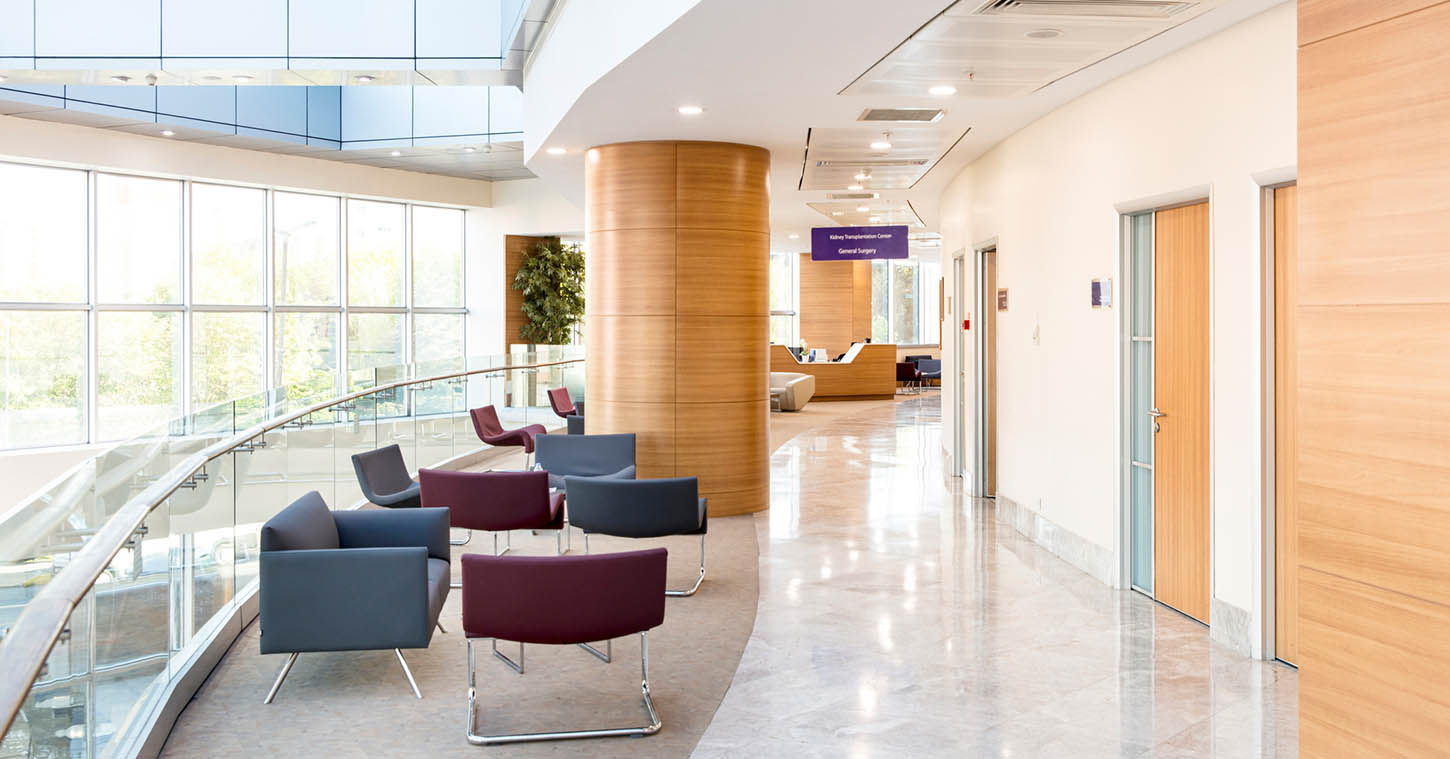 The right healthcare environment can reduce your stress