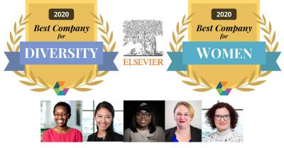 Elsevier named a Best Company for Women and Diversity