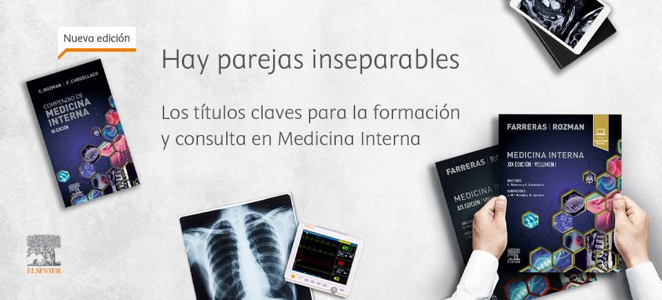 'Farreras|Rozman', la herramienta de soporte fundamental para la práctica clínica diaria en Medicina Interna