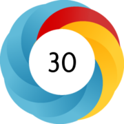 An example of the Altmetric.com donut which can be found on many Scopus articles.