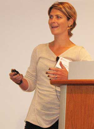 Jeanne Garbarino, PhD (Photo by Marilynn Larkin)