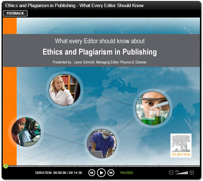 Ethics and plagiarism: What every editor should know