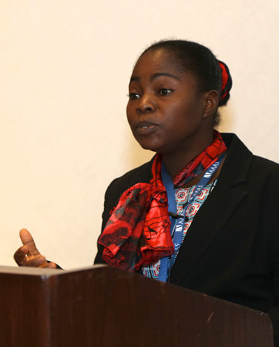 Mojisola Oluwayemisi Adeniyi, PhD, Head of the Atmospheric Physics/Meteorological Research Group in the Department of Physics, University of Ibadan, Nigeria