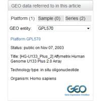 Gene Expression Omnibus Linked Data