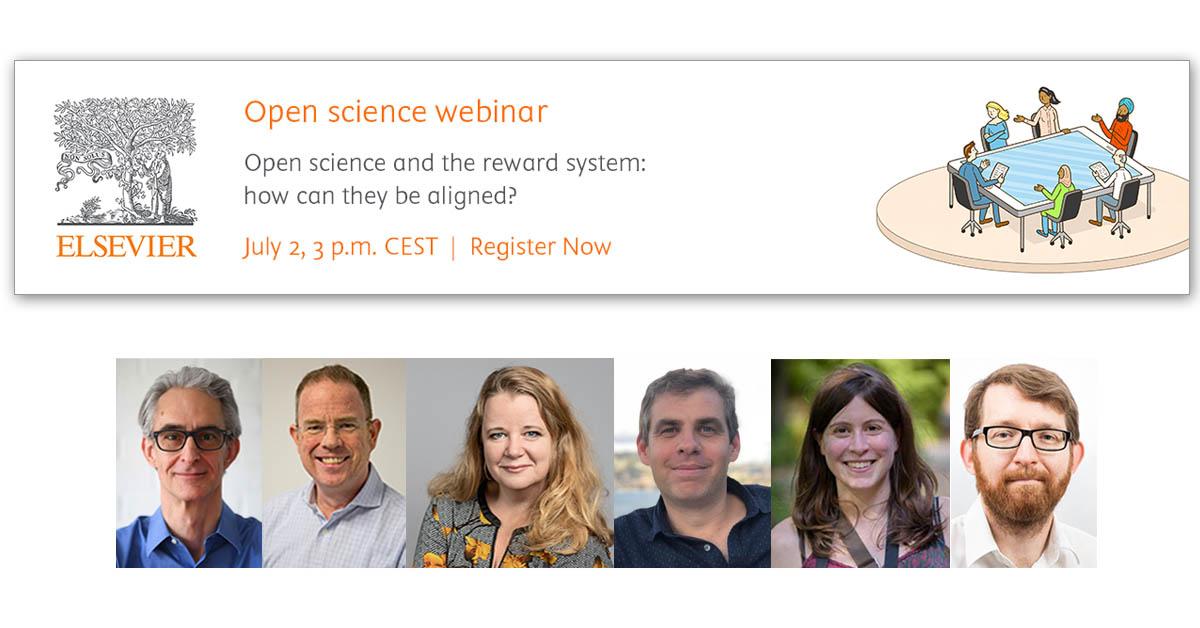 Open science webinar with panelists