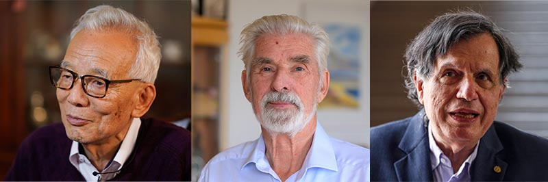 The Nobel Prize in Physics was awarded with one half jointly to Syukuro Manabe and Klaus Hasselmann and the other half to Giorgio Parisi (Photos: ANP)