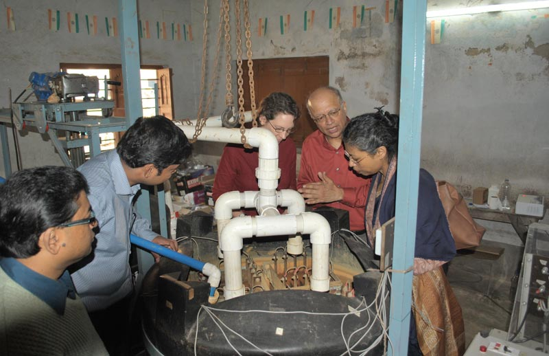 """Sustainable and scalable arsenic remediation of groundwater in South Asia"" (Photo courtesy of Gadgil Lab, UC Berkeley)"