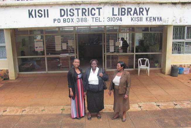 KNLS has a network of more than 60 public libraries across the country, and health and medical texts have for many years formed part of library collections. Many are provided through Book Aid International, which has worked with partner library services in Kenya since the 1960s. These include new books donated by publishers, including substantial donations from Elsevier. Other donors include the Ministry of Health in-country NGOs, such as HIV/AIDS consortia, and USAID. KNLS is keen to improve its health information service and has, for example, set up HIV and AIDS information corners in many libraries. Access to e-resources on health is also available.