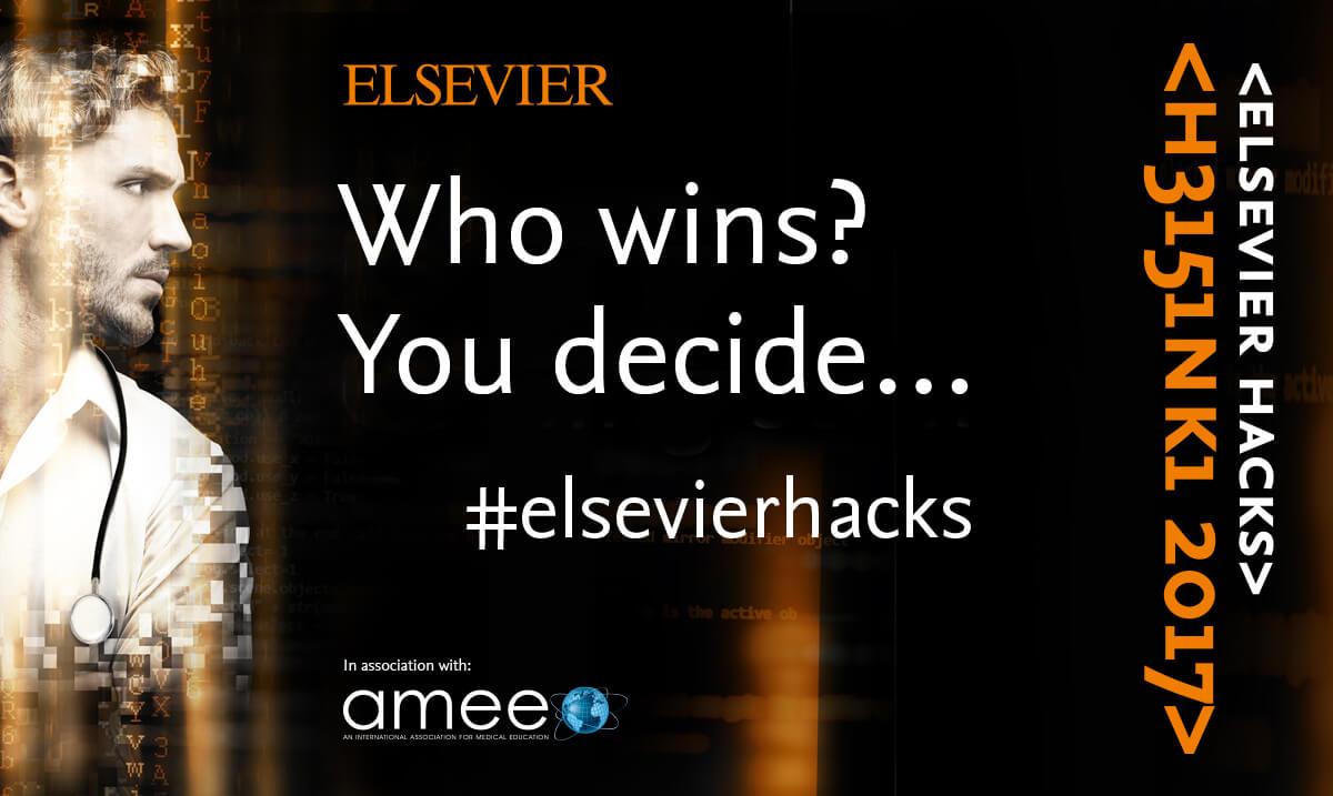 Who wins? You decide... #ElsevierHacks