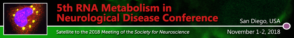5th RNA Metabolism in Neurological Disease Conference