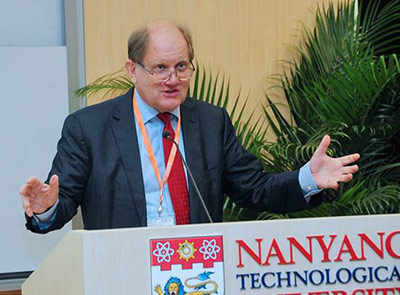 Professor Bertil Andersson, PhD, President of Nanyang Technological University
