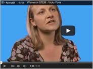 Women in STEM: Mendeley Advisor Vicky Pyne (video)