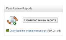 Open Peer-Review Reports