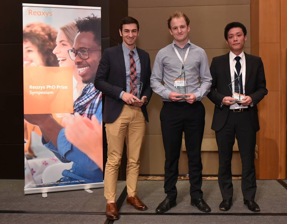 PhD Prize Symposium Winners - Reaxys 2015 | Elsevier