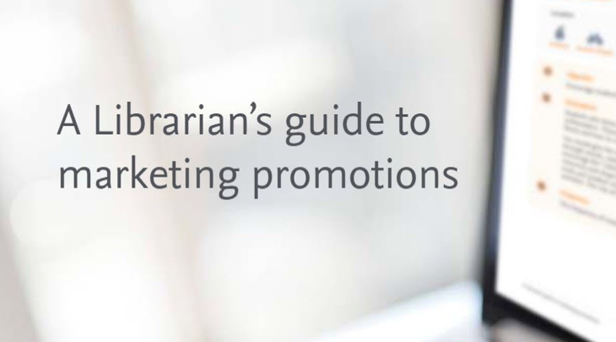 A Librarian's guide to marketing promotions