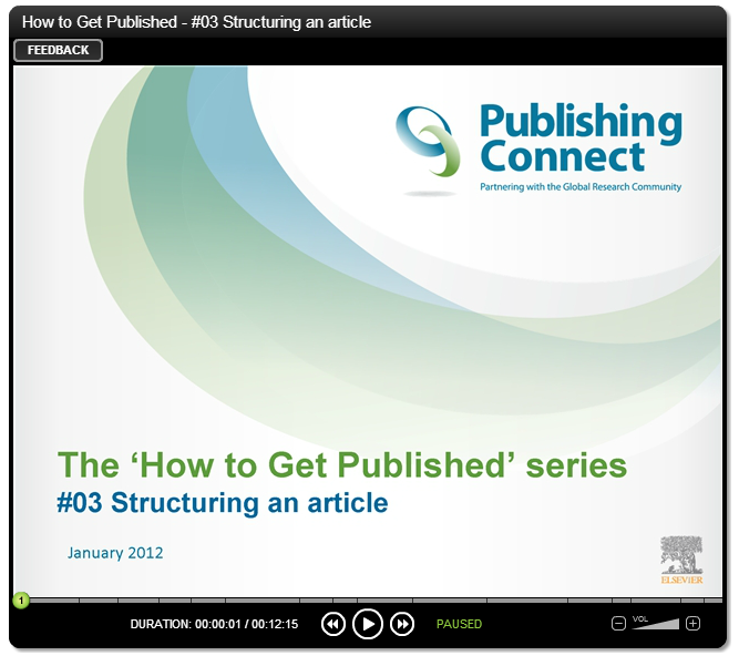 how to get an article published