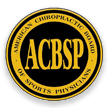 Logo of the associated society or organization at http://www.acbsp.com