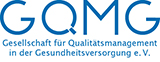 Logo of the associated society or organization at http://www.gqmg.de