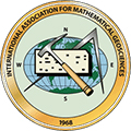 Logo of the associated society or organization at https://www.iamg.org