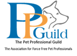 Logo of the associated society or organization at http://www.petprofessionalguild.com