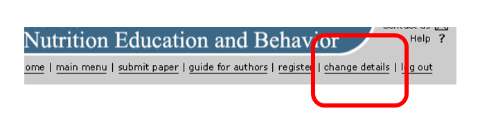 Guide For Authors Journal Of Nutrition Education And Behavior